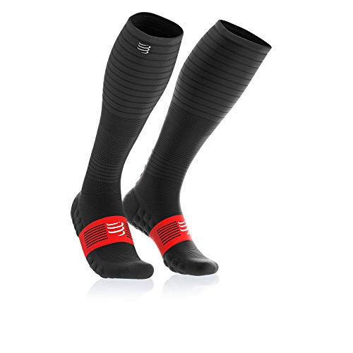 Compressport Oxygen Full Socken - SS19, M, Black