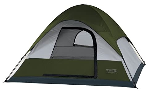 Wenzel Pinon Sport 7-by 7-Foot Three-Person Dome Tent by Wenzel