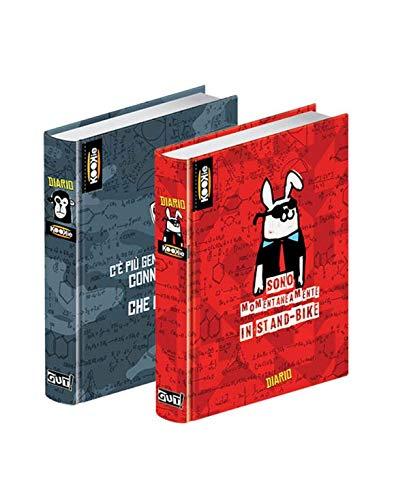 Tagebuch Agenda 2017-18undatiert Kookie cm15X 11