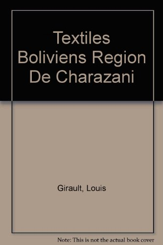 Textiles Boliviens Region De Charazani