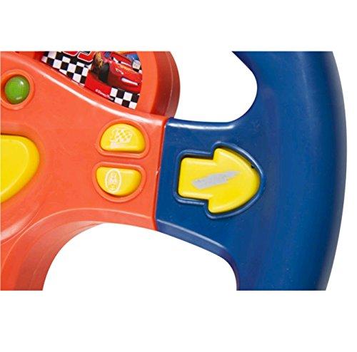 Sambro–Cars Volant avec lumières et Sons Enfant, Couleur Orange/Bleu (dsc7–3161)