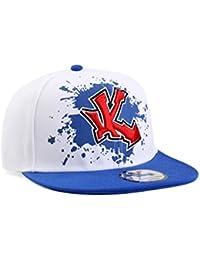 Underground Kulture Éclaboussure Bleu Casquette de Baseball Réglable (Blue Paint Snapback)