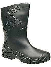Dunlop Homme DUK680211 Bottes - Noir, FR 44