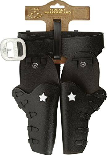 16 - Gürtel Jesse-James auf Tester, 2 Holster, 86 cm (Sheriff-gürtel)