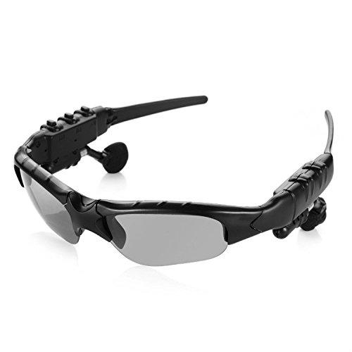 Bluetooth-Sonnenbrille Wireless Motorrad Eyewear mit 4GB Stereo Musik MP3(Call