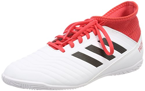 Adidas Predator 18.4 FxG J, Botas de Fútbol Unisex Adulto, Blanco (Ftwbla/Negbas/Correa 000), 38 2/3 EU