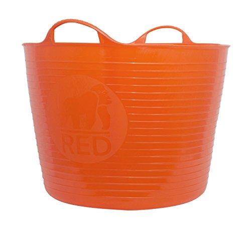 Tubtrugs - Mastello flessibile, misura grande, 38 l 42 Litre arancione