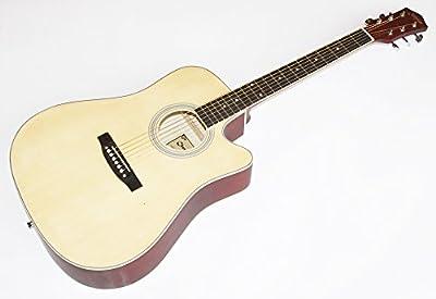 Cherrystone 0754235504900 guitarra acústica con hueco (108 cm (41 pulgadas)) la naturaleza mate