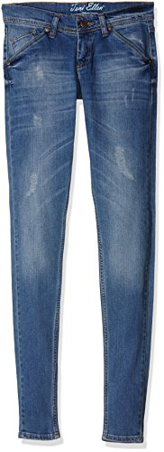 Toni Ellen Damen Jeanshose Blue Rich, Blau (Blau), W29/L30 (Herstellergröße: 38/L30)