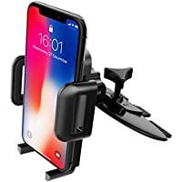 CD Slot Mount, Mpow Grip Pro 2 Universal Easy CD Slot Phone Holder with Just A Push, 360 Degree Rotation, 5 Different Test At Design Time Car Phone Holder for iPhone 8 7s 7 6 6Plus 5S 5, Samsung Galaxy S6 S5, Note 5 4 3, HTC, Nexus 4, LG, Nokia and Others