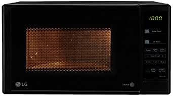 Lg 20 L Solo Microwave Oven Ms2043db Black Amazon In