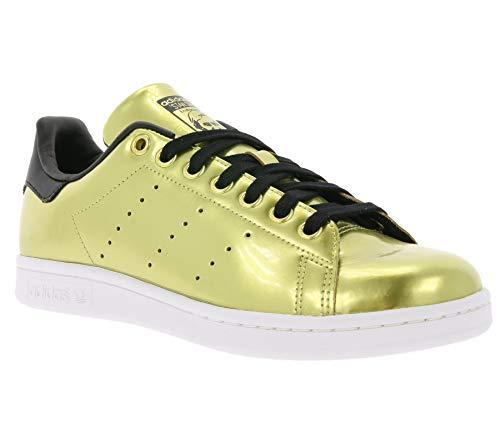 adidas Stan Smith, Scarpe da Ginnastica Basse Donna, Oro (Gold Met. / Gold Met. / Core Black), 37 1/3 EU