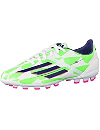 outlet store a5d14 aa9f8 adidas Bota Jr F10 TRX AG Core white-Rich blue-Solar green