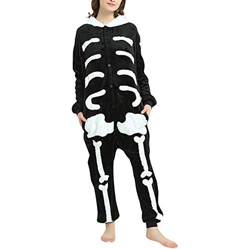 semen Unisex Erwachsene Jumpsuit Schlafanzug Einteilig Kostüm Pyjamas -