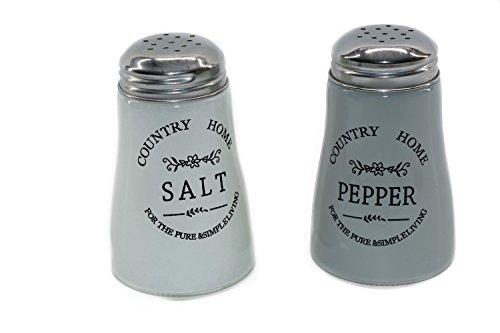 RMB® 2er Set Salz- und-Pfeffer-Streuer Country im Retro-Look Western-Style Salt Shaker