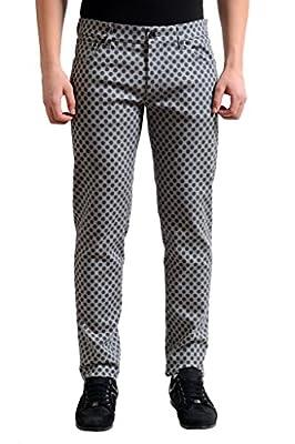 Dolce & Gabbana Multi-Color Polka Dot Slim Fit Men's Denim Jeans