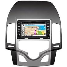 "2DIN 6,7"" HYUNDAI I30 (2009-2011): NAVEGADOR GPS, MANOS LIBRES BLUETOOTH, CD, DVD, USB, SD, IPOD"