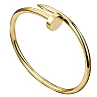 elegant and lovely cartier style gold bangle