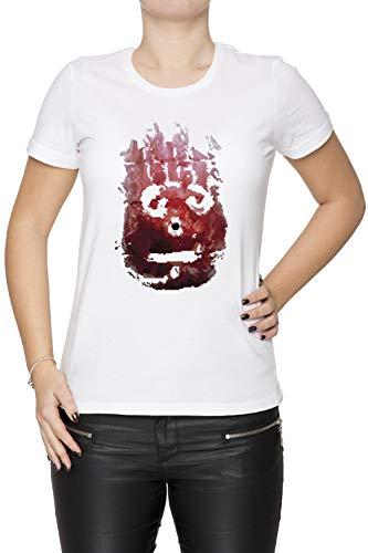 Wilson Damen T-Shirt Rundhals Weiß Kurzarm Größe M Women's White T-Shirt Medium Size M