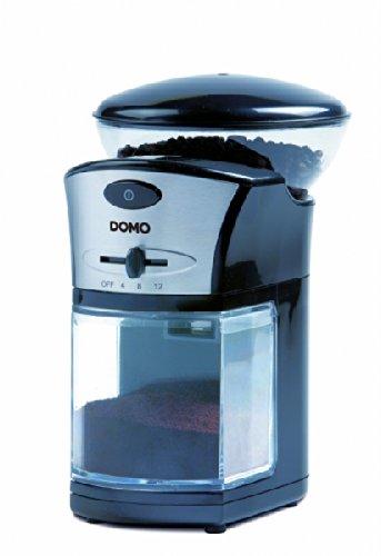 Domo DO442KM Molinillo 100W Negro, Plata - Molinillo de café 100 W, 138 mm, 173 mm, 243 mm, 170 mm...