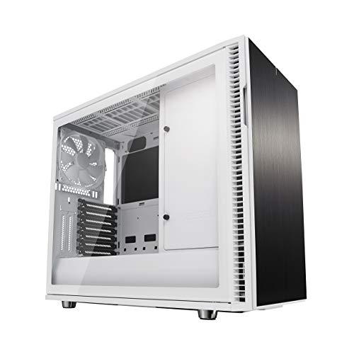 Fractal Design FD-CA-DEF-R6C-WT-TGC Define R6 Tempered Glass USB-C Gehäuse -