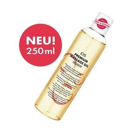Premium Massageöl von EIS | Erotik-Massage | Erdbeer-Aroma | 250 ml