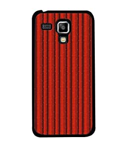 PrintVisa Designer Back Case Cover for Samsung Galaxy S Duos 2 S7582 :: Samsung Galaxy Trend Plus S7580 (Wallpaper Decorative Curtain Shad Brown Fabric )