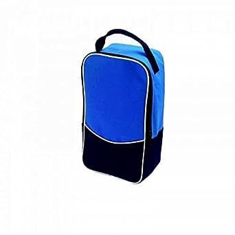 Finden & Hales Team Sports Shoe Bag (One Size) (Navy/Royal/White)