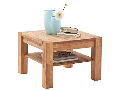 """Couchtisch aus Massivholz Sofatisch Holztisch Wohnzimmertisch Tisch Holz """"Peter"""""""