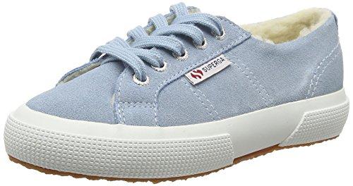 Superga Unisex-Kinder 2750 Suebinj Sneaker Blau (H19 Light Blue)