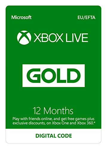 Compare Xbox Live 12 Month Gold Membership | Xbox One/360 | Xbox Live Download Code prices