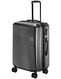 Nasher Miles Fifth Avenue Expander Hard-Side Polycarbonate Check-in Luggage 28 Inch | 75CM Trolley Bag