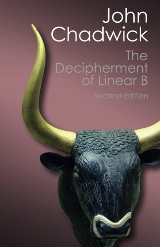 The Decipherment of Linear B (Canto Classics)