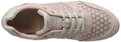 Mustang Damen 1241-301-555 Sneakers Rosa (555 Rose)