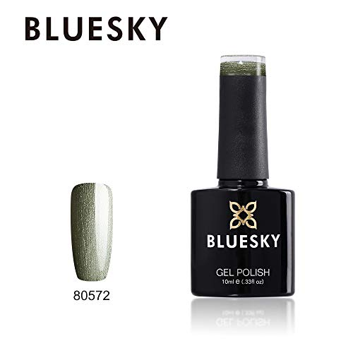 Bluesky UV/LED esmalte de uñas de gel, verde oliva 10ml