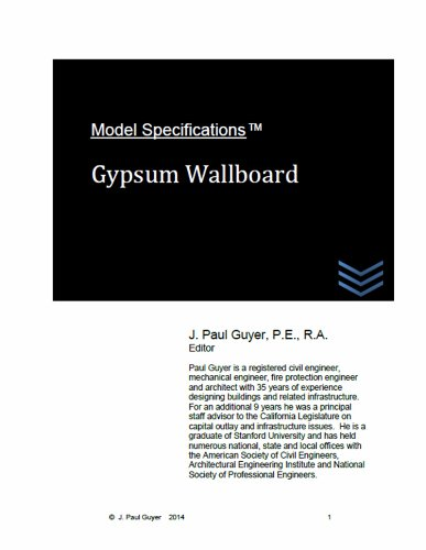 model-specifications-gypsum-wallboard
