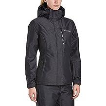 Columbia Alpine Action OH Jacket - Chaqueta de esquí para mujer, color negro, talla M