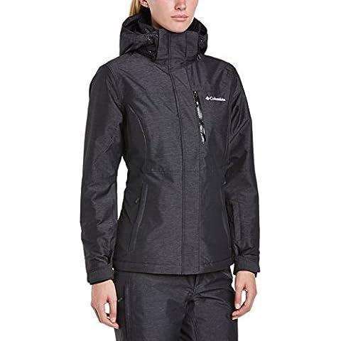 Columbia Alpine Action OH Jacket - Chaqueta de esquí para mujer, color negro, talla S