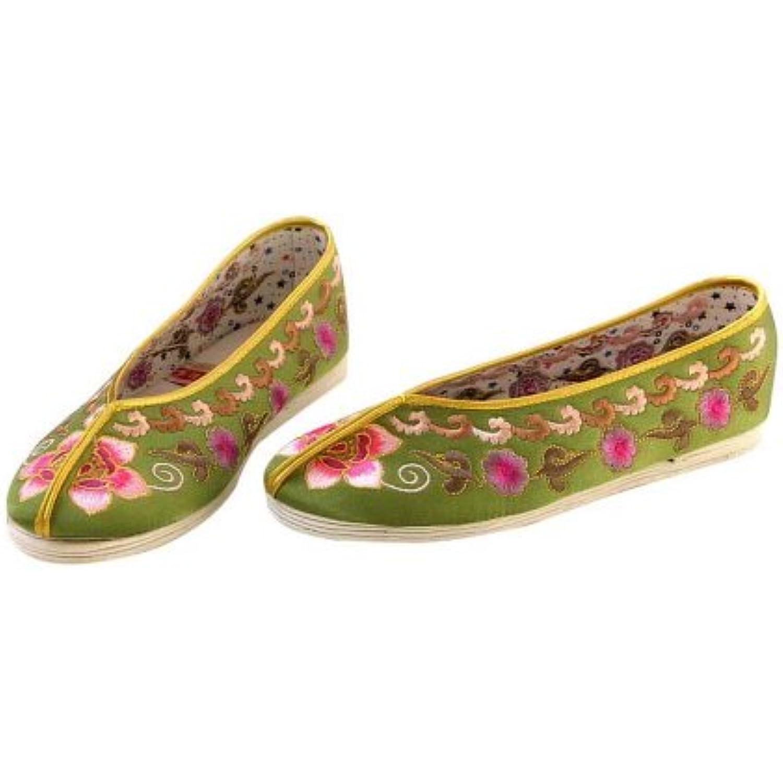 Artisanat Artisanat Artisanat Mules en Soie Chaussures Femme Confortables Mocassin Ballerines #109 - B009SLT95E - ab20e5