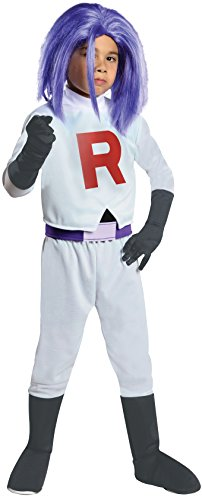 (Pokmon James Team Rocket Costume Child Large)