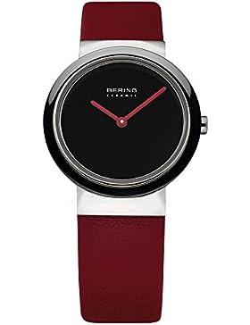 Bering Damen-Armbanduhr Slim Ceramic Analog Quarz 10729-642
