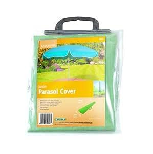 Gardman 30097 43x190x25cm jumbo parasol cover amazonco for Amazon gardman furniture covers