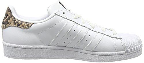 adidas Originals Superstar, basket femme Blanc (White/White/Core Black)