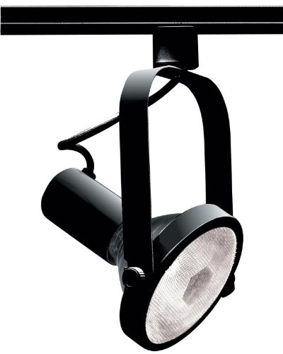 Nuvo TH223 Par30 Gimbal Ring Track Head, Black by Nuvo -