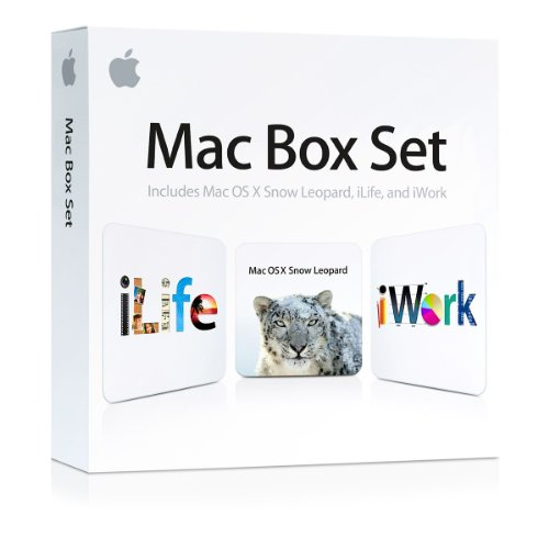 Mac Box Set (inkl. MAC OS X Snow Leopard 10.6.3, iLife 09, iWork 09)