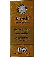 Khadi Coloration Végétale Blond Moyen Mielle
