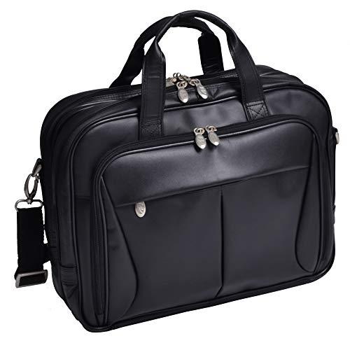 McKlein Herrentasche Reisetasche Laptoptasche Pearson naturaleder 15,6