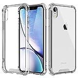 Coque pour iPhone XR, Coque de Protection avec Absorption de Choc et Anti-Scratch, Ultra Transparent Silicone en Gel TPU