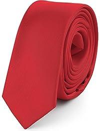 Ladeheid Corbatas Estrechas Diversidad de Colores Accesorios Ropa Hombre SP-5 (150cm x 5cm
