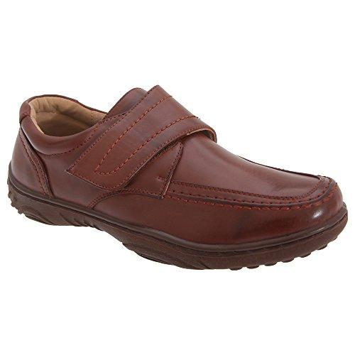 Smart Uns - Chaussures décontractées à fermeture velcro - Homme Fauve
